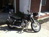 Selling my 2003 Honda Rebel 250. It has a little over