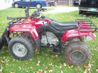 1997 Honda 250 cc Recon 4x2---electric or pull