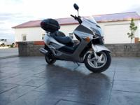 2007 Honda Reflex 250cc Scooter with 3,276 one owner