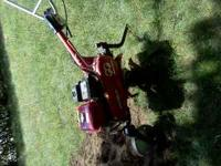 honda rototiller model f501 5.5hp 3 gear starts right