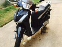 * Super low mileage 208 mi * 153cc scooterExcellent