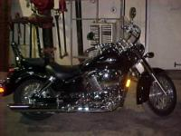 This auction is for a beautiful 2002 Honda Shadow 750cc