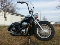 Honda shadow 2003 ACE 750 , with 5500 miles on it one