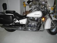 THIS HONDA SHADOW IS A 2007 MODEL AND IN EXCELLENT