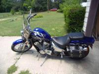 2003 Honda Shadow Deluxe VLX 600=AS IS For Sale As Is