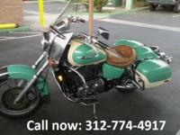 Bike in GOOD condition has Indian leather seats,