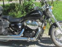 Honda Shadow RS 2013, 4,400 miles, good condition.