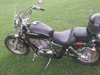 I'm selling my Honda Shadow 1100. I have title in hand