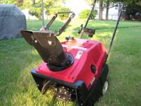 Honda Snowblower HS520AS Used but well taken care of.
