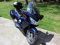 2004 Honda ST1300, Dark Blue, garage kept with19,199+