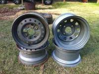 I have four Honda steel wheels for sale don't use them