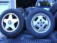 5 tires and rims 175-70-13 honda rims 3 with tires 2
