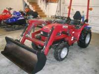 Honda 94-96 model 6522 Tractor with loader model 6552