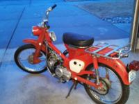 1964 Honda 90. A terrific running bike that has