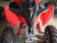 You are looking at a barely ridden 2012 Honda TRX 400X