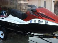 I have a 2007 Honda Turbo Aqua Trax F12 jet ski for
