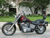 1999 Honda VT 1100 C Shadow with 20044 miles! This bike