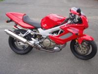 USED MOTORCYCLE FOR SALE: 2001 HONDA VTR1000F SUPER