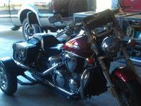 2004 Honda VTX 1300, with trike conversion kit