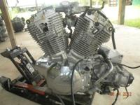 USED ENGINE. FROM A 2004 HONDA VTX1300C WITH ONLY 18341