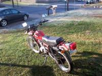 I have a 1981 Honda XL185s Dual Sport I'm looking to