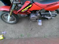 It's a honda xr 50r dirt bike which was used only a few