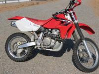 2002 Honda XR 650R. Good condition, cosmetic wear, runs