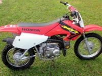This is a very nice Honda XR70 Dirt Bike in great