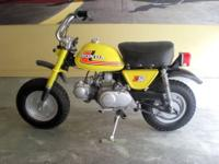 1976 Honda Z50 Mini Trail Motorcycle. This is a great