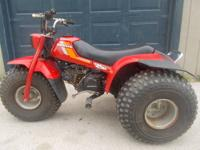 HONDA 125M ATC three wheeler starts 1st pull every