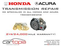 Cartopia LLC  We concentrate on all Honda/Acura