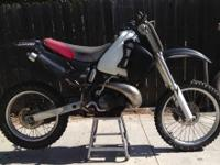 1989 HONDA CR250 for trade mainly Looking to trade my