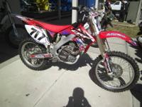 I Am selling my 2005 CRF250r dirtbike. It is in
