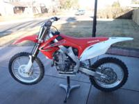 I am selling a 2012 Honda CRF 450R. Asking $4200 or