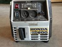 This generator is in excellent condition, runs