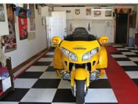Honda Goldwing with 2009 Hannigan Trike Kit and 2009