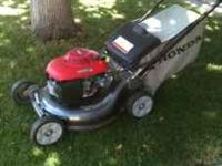 Nice Honda mower works great . Call me if you would