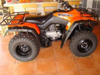 HONDA HERDSMAN 4X4 FM-1 350 MANUEL 5 RATE 2001 WITH