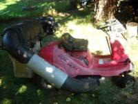 honda riding mower H1011 electric start. needs blade