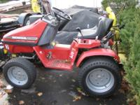 FOR SALE IS A VERY NICE HONDA MODEL RT5000 COMPACT