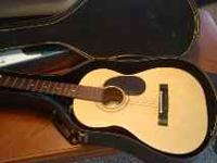Hondo Guitar, new with case, model # HO15S, made in