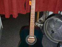 FOR SALE A HONER ACOUSTIC GUITAR. MODEL #: HW300G-TB.