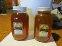 Farm fresh pure honey by the quart. $10.00 dollars call