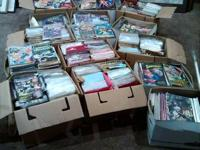 Over 4000 comic books in the collection from early