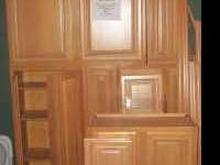 Honey Maple Cabinets. New, never installed. Solid Wood