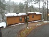 We have for rent, a 2 bath 1 bedroom cabin. The cabin