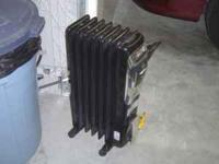 Honeywell Electric Heater $55.00 Cash only! Used only