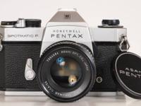 Vintage Honeywell Pentax Spotmatic F with Asahi SMC