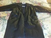 Black leather jacket in great condition only worn a few