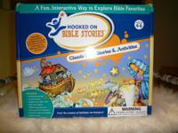 This is a never used Hooked on Bible stories: a fun and